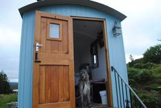 Image result for skye shepherd huts Shepherds Hut Holidays, Outside World, Double Beds, Climbers, Dog Friends, Cosy, Shed, Outdoor Structures, Image