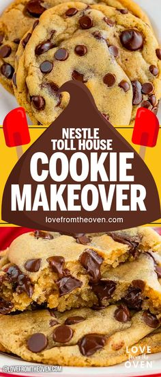 Hypoallergenic Pet Dog Food Items Diet Program Take Your Nestle Toll House Cookie Recipe To A Whole Other Level Soft And Chewy, Not Flat, And Perfectly Delicious Chocolate Chip Cookies Nestle Chocolate Chip Cookies, Toffee Cookies, Yummy Cookies, Nestle Toll House Cookies Recipe, Toll House Chocolate Chip Cookie Bar Recipe, Toll House Bars Recipe, Chocolate Desserts, Nestle Recipe, Cake Cookies