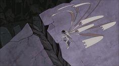 animated background_animation debris effects fighting running smoke soul_eater yutaka_nakamura yutapon_cubes