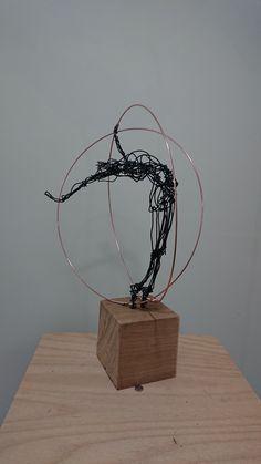 Paul Joyner Sculpture Studio is the inspiration of Paul Joyner, wire sculptor. He creates dance sculpture and other wire sculpture to create wire art Reclaimed Wood Wall Art, Wood Art, Wire Art Sculpture, Wire Sculptures, Abstract Sculpture, Bronze Sculpture, Chevron Wall Art, Scrap Metal Art, Art Archive