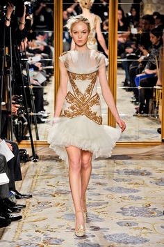 Marchesa Fall 2012 Runway Pictures - StyleBistro