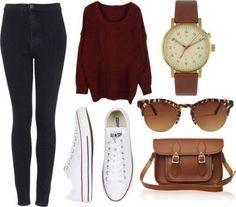 Pantalon, chandail, souliers et accessoires