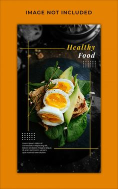 Healthy food menu promotion instagram st... | Premium Psd #Freepik #psd #banner #food #menu #sale Food Graphic Design, Food Menu Design, Food Poster Design, Creative Poster Design, Food Packaging Design, Web Design, Restaurant Poster, Restaurant Branding, Restaurant Restaurant
