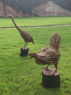 Some more wonderful creations from the Willow Sculpture Workshop 2014.