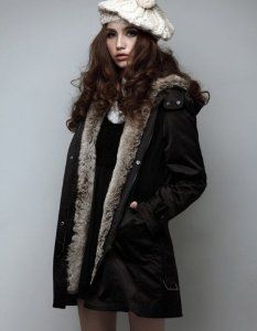 Amazon.com: Hee Grand Women's Thicken Fleece Faux Fur Coat