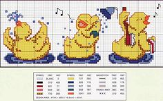 Cross Stitch For Kids, Cross Stitch Cards, Cross Stitch Animals, Chicken Cross Stitch, Fair Isle Knitting, Cross Stitch Designs, Crochet Doilies, Crochet Baby, Pattern Design