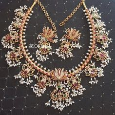 22 Guttapusalu Haram Designs That You Would Like To Grab on Sight! • South India Jewels