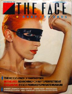 Neville Brody, The Face, no. 42, October 1983