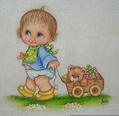 Imagem relacionada Cute Baby Dolls, Cute Babies, Cute Baby Cartoon, Ladybug Rocks, Doll Patterns, Quilt Patterns, Chicken Quilt, Church Nursery, Baby Portraits