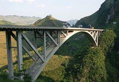 Mega Engenharia: Qingshui Bridge – China