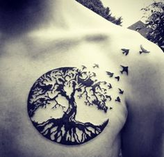 oak tree tattoo celtic - Google Search                                                                                                                                                                                 Plus