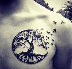 oak tree tattoo celtic - Google Search   tatuajes | Spanish tatuajes  |tatuajes para mujeres | tatuajes para hombres  | diseños de tatuajes http://amzn.to/28PQlav