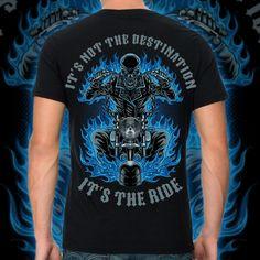 Design An Awesome Biker T-Shirt -