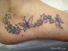 Very nice, maybe on my right ankle.