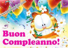 Immagini di Garfield di Buon Compleanno - ツ Auguri di Buon Compleanno - Tanti Auguri a Te ツ