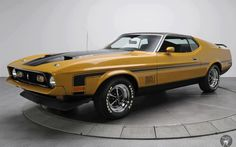 1971 - Ford Mustang Mach 1 by on DeviantArt 1971 Mustang Mach 1, Mustang Fastback, Ford Mustang Shelby, Mustang Cars, Classic Mustang, Ford Classic Cars, Best Classic Cars, Pony Car, Car Ford