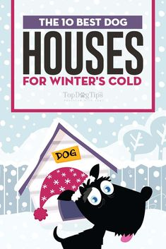 The Best Dog Houses for Winter #doghouse #dogsupplies #dogs #winter #pets