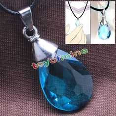 Sword Art Online SAO Kirito / Asuna's/ Yui Cosplay Light blue Crystal Necklace in Collectables, Animation, Japanese/ Anime | eBay