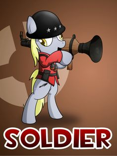 Pony Fortress Heavy by on DeviantArt Team Fortess 2, Meet The Team, Mlp Characters, Video Team, Overwatch, My Little Pony, Video Games, Character Design, Deviantart