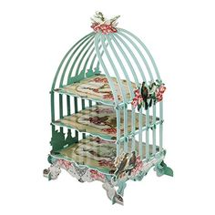 Pastries & Pearls 3-Tier Birdcage Patisserie Cake Stand, 2015 Amazon Top Rated Cake Stands #Kitchen