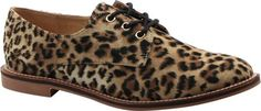 Luichiny Women's Lucky Girl Leopard Imitation Suede Oxford 8 M Luichiny http://amzn.to/1GyNBpm