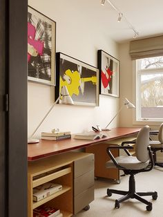 RoomReveal - Home Office: Jackson Hole Apartment by Timothy Macdonald