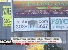 Isis books & gifts gets vandalized