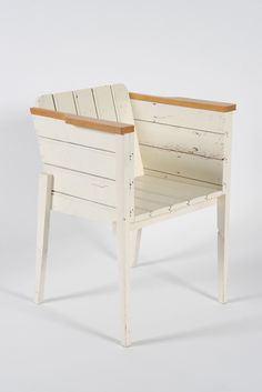 Bucket Seat in Scrap Wood White / Año: 1998 / Vendidas: 777 desde 2007