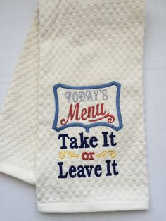 Kitchen  - towels - Mother's Day - hostess gift - gifts - valentines