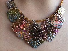 Shimmer Sheetz necklace.