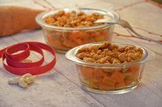 Crumble de patates douces et carottes aux noix de cajou - Au Fil du Thym