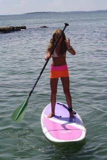 Beach Bumwraps are worn over your bathing suit :: great for paddle boarding ::