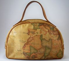 Vintage Alviero Martini 1A Classe Handbag by JustEclectic on Etsy, $45.00...too frickin' cool!!!