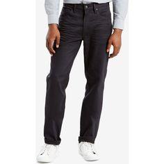 Levi's Men's 541 Athletic Fit Jeans ($47) ❤ liked on Polyvore featuring men's fashion, men's clothing, men's jeans, pepper pot, levi mens jeans, mens stretch jeans, men's relaxed fit jeans and mens relaxed boot cut jeans