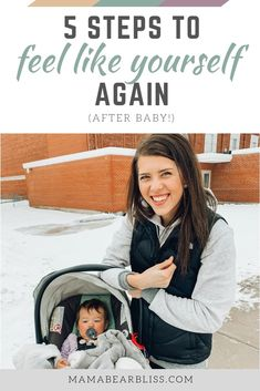 5 Steps to Feel Like Yourself Again (After Baby) Feel Like, Like You, Baby Announcement To Parents, Pregnancy Information, After Baby, Baby Arrival, Pregnant Mom, Baby Hacks, Motivation