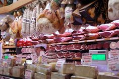 """""""A typical Bolognese deli"""" - """"Best Food Tour in Bologna: Golosa Italia"""" by Lauren Aloise on http://spanishsabores.com"""