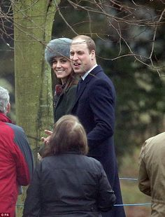 Kate was all smiles at church in her green coat by Sportsmax; the label is considered an e...