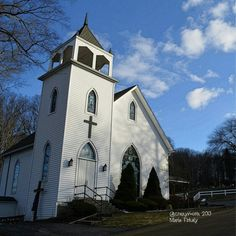 Crawford County churches #Pennsylvania. Original photo and edit by Maria Firkaly #church