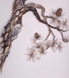 "554 Likes, 10 Comments - Yulia Brodskaya (@yulia_brodskaya_artyulia) on Instagram: ""Minimalistic Pine tree branch to add to my new series inspired by Japanese art"""