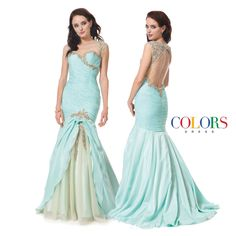 Unforgettable! COLORS DRESS Style 1189. #fashion #ootd #prom #prom2015 #pageant #glamour #beauty #seventeenmag #teen #teenvogue #formal #ballgown #love #sexy