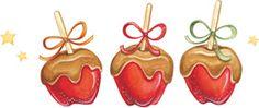 Caramel Apples. Artwork by Gooseberry Patch.