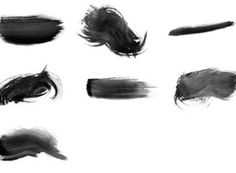 Free High-Res Watercolor Photoshop Brushes