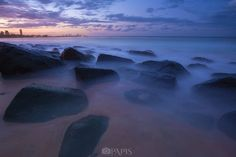 Sunset over Burleigh by Pawel Papis - Photo 126887167 - 500px
