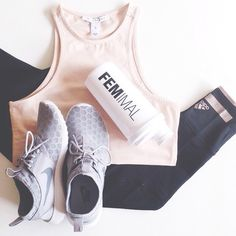 one of the best motivators for me lol new workout clothes #flatlays #fitgirlinspo #fitness