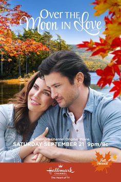 Its a Wonderful Movie - Your Guide to Family and Christmas Movies on TV: Over the Moon in Love - a Hallmark Channel Fall Harvest Movie starring Jessica Lowndes & Wes Brown! Family Christmas Movies, Hallmark Christmas Movies, Family Movies, New Hallmark Movies, Holiday Movies, Wes Brown, Películas Hallmark, Hallmark Channel, Jessica Lowndes