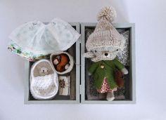 Mini teddy set Lora - so cute!