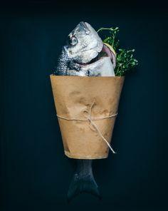 Recipes on Blondiechef's Portfolio Fish Recipes, Food Styling, Roast, Planter Pots, Roasts, Plant Pots