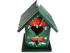 Rosemaling + Birdhouse = Lovely!