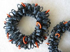 made from bicycle inner tube