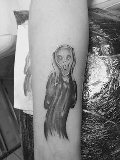 #arttattoo #art #tattoo by Simone Riflesso #SimoneRiflesso #bonnieclydetattostudio
